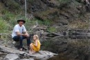 Robert and Kara take a break from hunting for Koala