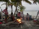 Endless days at the beach for sundowners around a fire