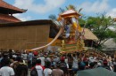 Death seems to be celebrated more than life, these cremation ceremonies are huge, all glitz and glamour, Ubud Bali