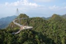 view from the top of cable car at Langkawi