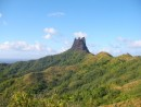 amazing rock pinnacle Nuku Hiva