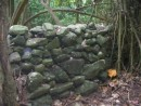 ancient rock wall - historical site