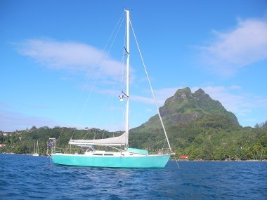 Valiam looking gorgeous Bora Bora