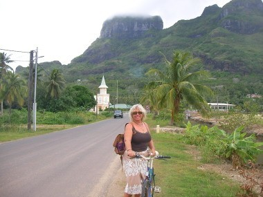 Bonde do by bike Bora Bora