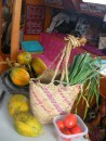 local produce and basket