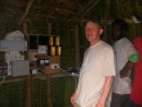 Phil form Oz in charge of generator project funded by Peace Corps
