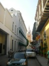 Cartagena street Old Town