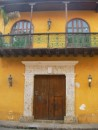 typical building Cartagena Old Town