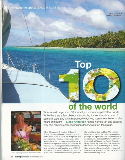 Cruising Helmsman November 2010 page 1