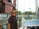 capn Bill on travel lift
