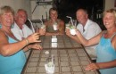 caipirinhas again with Andre, Catherine,  Marc and Chantelle