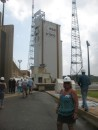 Linda at launch site
