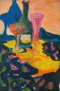 Pink Champagne flute			$500	acrylic,pastel, canvas		760X510		