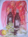 Cabernet - pastel on paper $150 unframed