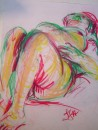 Wild one - pastel on paper 640X460