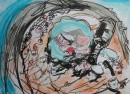 Flotsam and Jetsam			$425	ink, pastel on paper		430X530		540X640 white mount, white timber frame