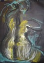 Loulou - pastel on paper $200 unframed