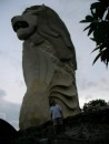 Merlion Sentosa and Bill