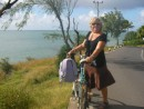Linda and bike