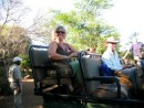 Linda and Rob on safari