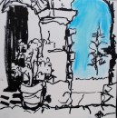 Courtyard Agrigente, Sicily