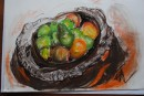 Crocodile bowl