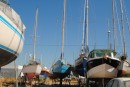 Lati at Ria Formosa boatyard, Olhao