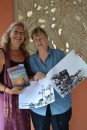 Linda and Karen after my workshop
