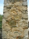 rock wall incorporating coral