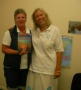 This lady had already bought my book and is ready to go cruising! Kawana Library