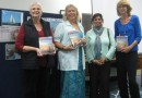 patrons and Linda Nambour library