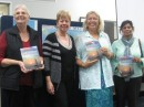 Jenny Haynes (librarian Nambour library) and 2 lovely ladies who enjoyed Linda