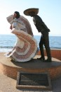 Mexican Dancer sculpture on the Malecon in PV.  It is so lovely!