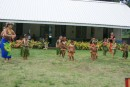 The primary class at the Fatu Hiva School - the program was adorable!