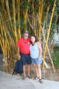 Giant Bamboo!  And for those of you requesting pictures of both of us... here you go!  We really are on the same trip!!!