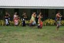The teachers at the Fata Hiva school.  They did a lovely traditional dance.