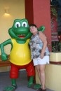 I love you Senior Frog!  A Mazatlan tourist spot - now there are Sr. Frogs all over Mexico!