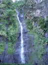 Three waterfalls.  Vaimahutu waterfall 100 meters high.