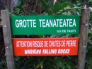 First stop Teanateatea Grotto