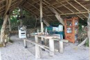 The Kitchen At Mafana Island Bacpacker
