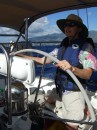 Jane at the helm