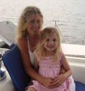 073: Bailey and I at our second anchorage on the ICW