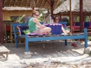 Lunch at Gili Air - a mix between Green Island and Low Isles only a bit bigger with a village on it- Relaxing~!!~