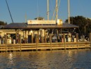 Main fuel dock at Vero Beach