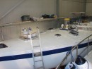Looking good - starting to look like a proper yacht again.