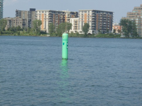 Typical channel buoy