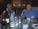 Judy and Wayne at Rohde dinner