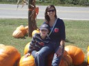 Tami and Blane at the apple orchard