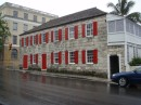 Old building downtown Nassau