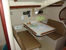 Navigation and dining booth (pre-instrument installation